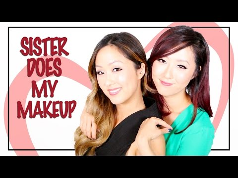 TAG | Sister Does My Makeup + Review of her Favorite Makeup!