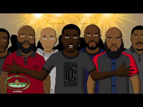 Drake vs Meek Mill - Rap Battle (LT Animated Cartoon)