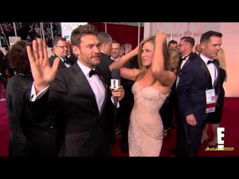 Reese Witherspoon Grabs Jennifer Aniston's Butt at at 2015 Oscars!