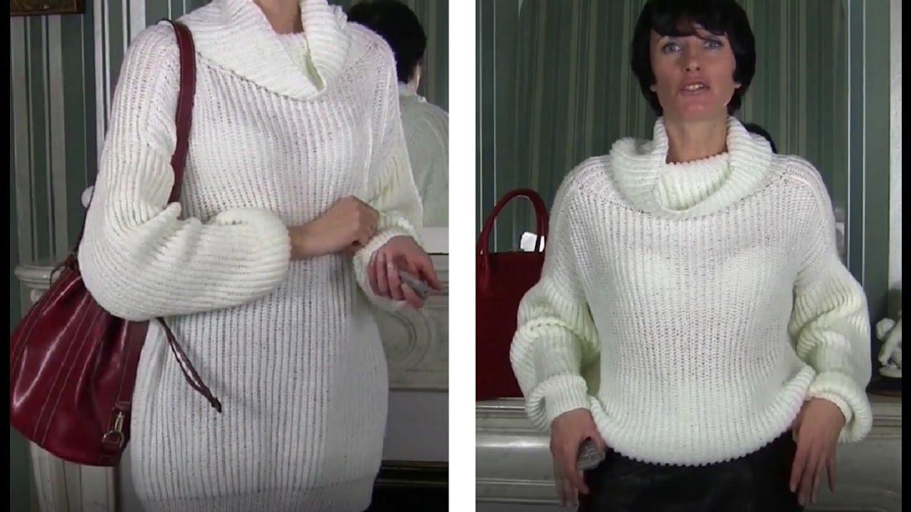 Вяжем спицами свитера реглан