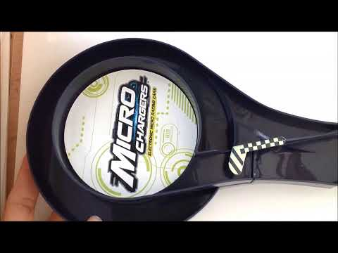Micro Chargers Cars Unboxing Toy Review Cars 2 Light racer cars
