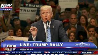 """BUILD THAT WALL!"" Donald Trump Chants After Major Endorsement"