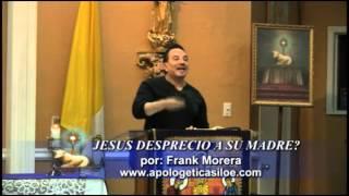 JESUS NO DESPRECIO A SU MADRE