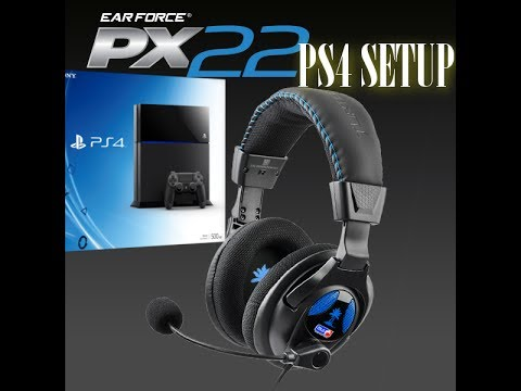 Tutorial: How to setup PX-22's onto your PS4 (For best quality & chat)