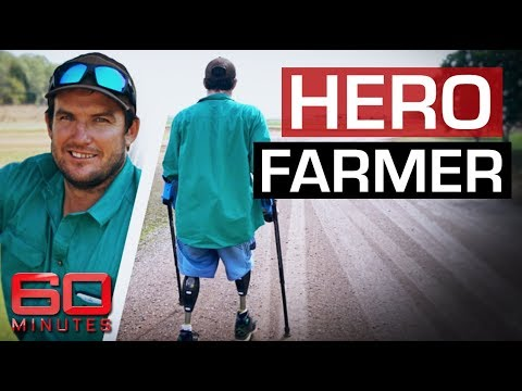 Aussie farmer loses both legs in freak lawnmower accident | 60 Minutes Australia