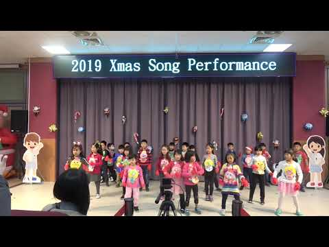 108學年度聖誕歌曲表演-一年三班
