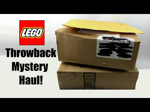 Throwback LEGO Mystery Box Opening and Haul!