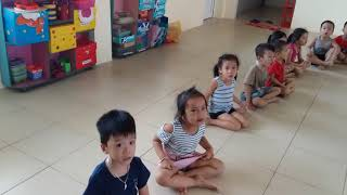Anh Ngóe Nhái- hát bà ơi bà - lớp 5 tuổi 1 trường Mầm non xã nam triều huyện phú xuyên tp hà nội