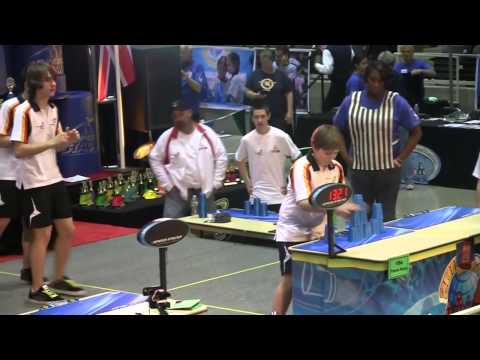 Evolution of the Sport Stacking World Records