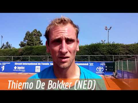 Thiemo De Bakker, ATP Challenger Casablanca 2015 (d. D.Gimeno Traver 64 64)