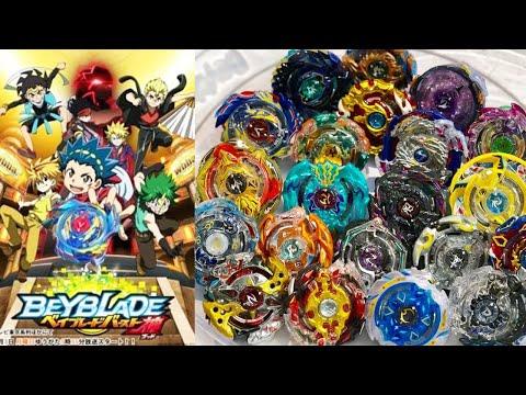 ALL SEASON 2 Beyblade Burst GOD/EVOLUTION Marathon Battle! thumbnail