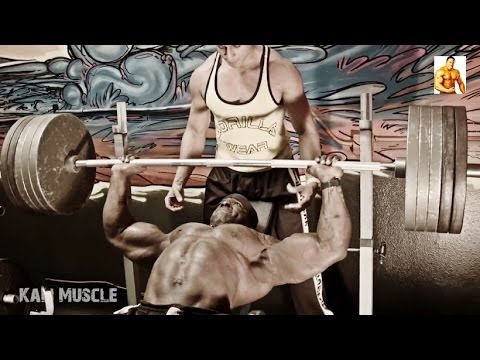 Kali Muscle: 545lb Bench Press | 495lb Incline Bench Press Image 1