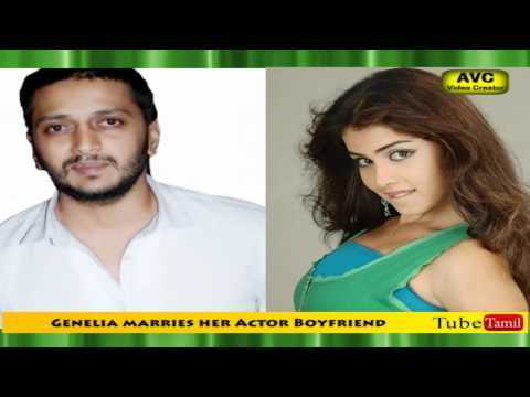 Genelia marries her Actor Boyfriend
