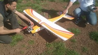 calmato 40 trainer maiden flight