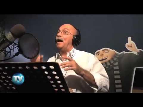 Mi Villano Favorito Andrés Bustamante voz de Gru Doblaje español