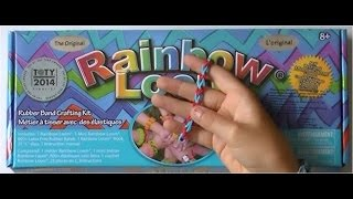Rainbow Loom, Nederlands Beginners armband