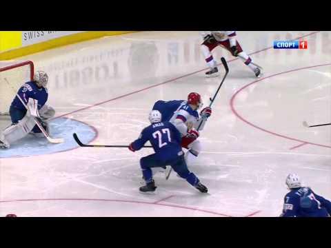 Четвертьфинал ЧМ по хоккею 2014 Россия - Франция 3:0. 2014 IIHF WС Quarterfinal Russia - France 3:0