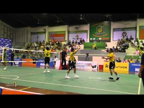 Takraw Thailand League 2014 - Ratchaburi Vs. Bangkok (round 8 Highlights) video