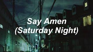 Panic! At The Disco - Say Amen (Saturday Night) [Lyrics] MP3