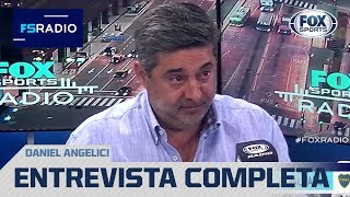 Daniel Angelici en FOX Sports Radio quotNo es cierto que RomГn jugГ gratisquot
