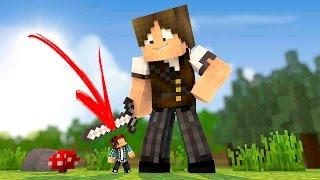 Minecraft :  MEU AMIGO É UM GIGANTE !! (Nova Série?)