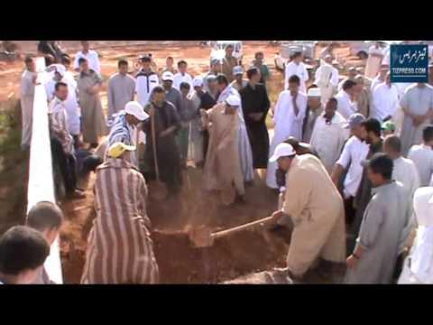 """مراسيم تشييع جنازة الفاعل الجمعوي الراحل """"عبد اللطيف أمرير"""""""
