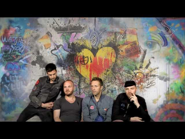 Coldplay on UNSTAGED - American Express UNSTAGED
