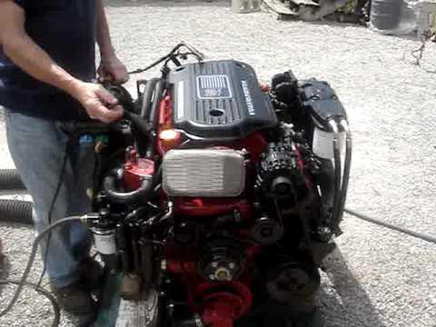 BoatWrench Engine Test - YouTube