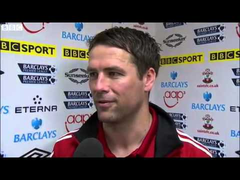 Michael Owen's Emotional Final Farewell Interview - Southampton 1-1 Stoke