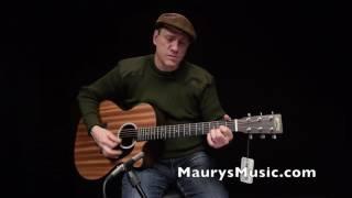 The Martin GPCX2AE Macassar at Maury's Music