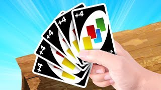 The LUCKIEST HAND in UNO! (unbeatable)