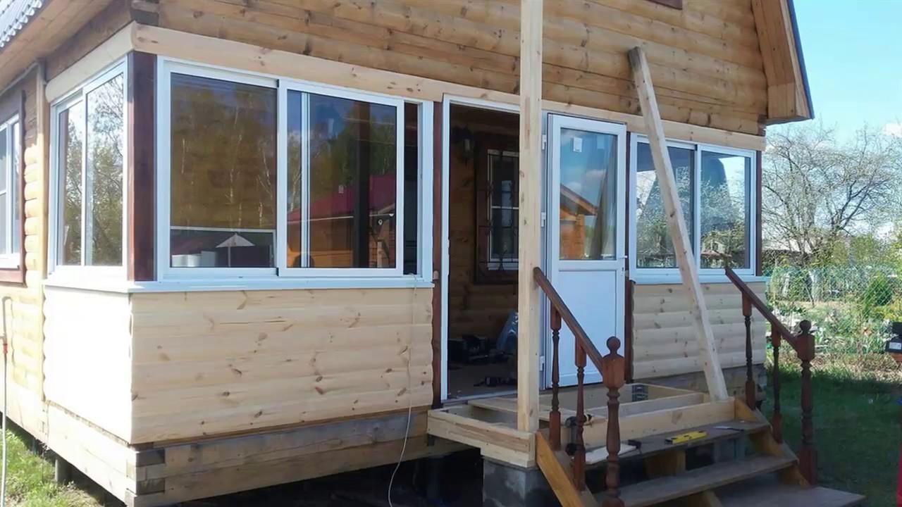 Закрытое крыльцо для деревянного дома своими руками фото 307