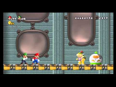 GAMING WITH WIFEY-SUPER MARIO BROS WII-WORLD 8-GHOSTSHIP-ALM1GHTY-PT1