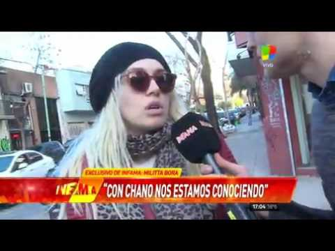 Militta Bora dice que con Chano... se está conociendo