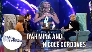 Iyah and Nicole are proud of Miss Spain, the 1st Trans-woman to join Miss Universe