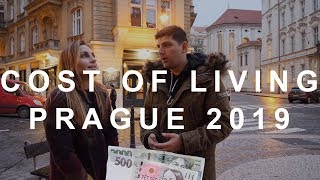 Cost of living in Prague (Czech Republic)