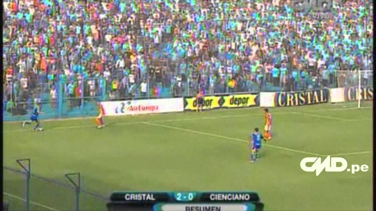 Sporting Cristal 2-0 Cienciano