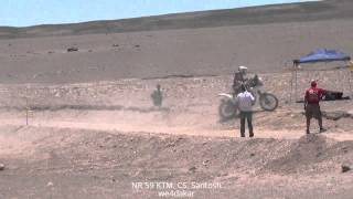 NR 59 DAKAR 2015 KTM. CS. Santosh