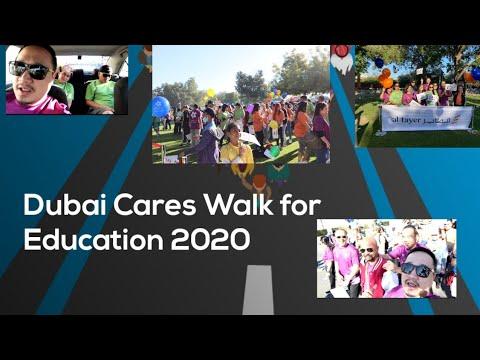 ALAY LAKAD   WALKATHON DUBAI CARES 2020   WALK  THE DISTANCE MAKE A DIFFERENCE   Joe Vlog