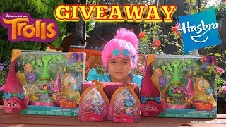 Dreamworks Trolls Camp Critter Pod Playset Blind Bags Collectible Figures Unboxing and Giveaway