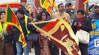 Sri Lankan manifestation against terrorism in Geneva part 3