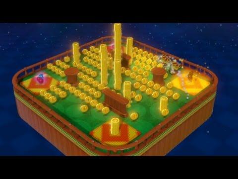 Captain Toad: Treasure Tracker 100% Walkthrough Part 20 - Coins Galore Bonus Stages