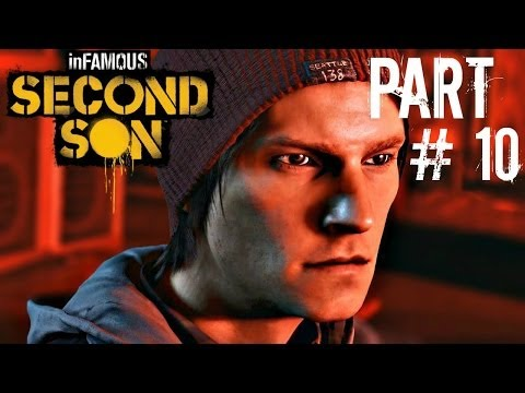Let's Play Infamous: Second Son - Part 10 (Cole's Legacy Part 2 & 3 / Zeke!!!) Gameplay