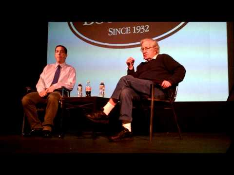 Glenn Greenwald and Noam Chomsky at the Brattle Theatre, Part 1