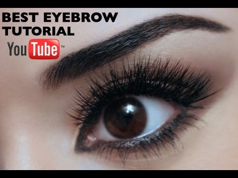 Best Eyebrow Tutorial On Youtube As Voted By You! video