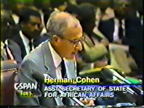 Eritrea and Ethiopia at Foreign Affairs USA June 1991 P1