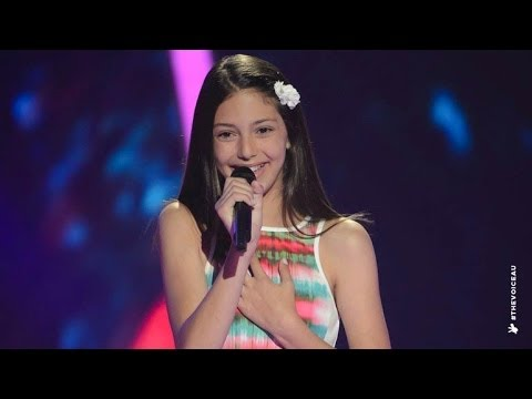 Lenisa Sings A Whole New World  The Voice Kids Australia 2014