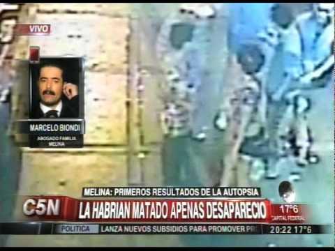 C5N - CASO MELINA ROMERO: HABLA MARCELO BIONDI TRAS LA AUTOPSIA