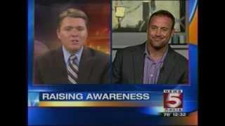 Matt Iseman on WCYB-TV Tri-Cities, VA