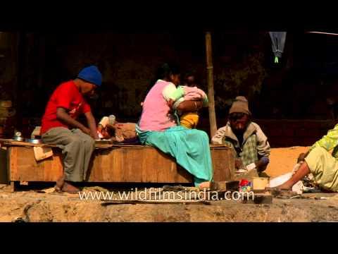 Ragpickers' paradise - Delhi city